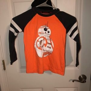 Star wars long sleeve tee